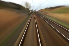 Железнодорожный путь Стоковая Фотография