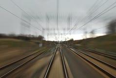 Железнодорожный путь Стоковые Изображения RF