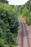 Железнодорожный путь Стоковые Фото