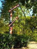 Железнодорожный сигнал без трассы Стоковое Изображение