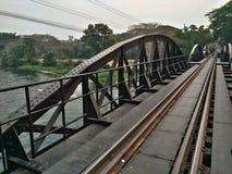Железнодорожный тайский поезд символический на туристической достопримечательности Таиланда Стоковые Изображения RF