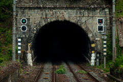 Железнодорожный тоннель Стоковые Фотографии RF