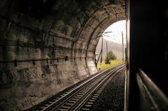 Железнодорожный тоннель Стоковое Изображение