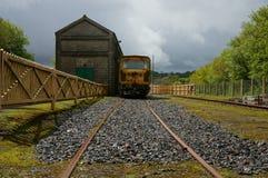 Железнодорожный siding Стоковое Изображение RF
