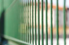 Железные бары тюремной камеры стоковое фото rf