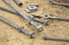 Железные болты и узлы Стоковая Фотография RF