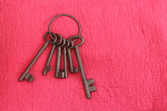 Железные ключи Стоковое Изображение