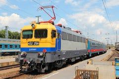 Железные дороги положения Венгрии Стоковое Изображение