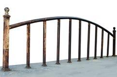 Железные перила Стоковая Фотография