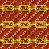 Железные цепи с текстурой knit безшовной иллюстрация штока