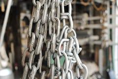 Железные цепи Стоковые Изображения RF