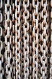 Железные цепи стоковое изображение