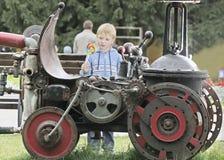Железный автомобиль стоковая фотография