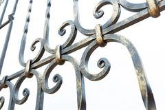 Железный гриль стоковое изображение