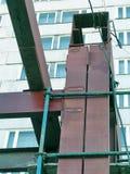 Железный каркас конструкции Стоковая Фотография