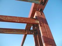 Железный каркас конструкции Стоковые Изображения