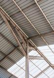 Железный каркас современной крыши Стоковая Фотография