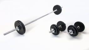 Железный комплект веса Стоковая Фотография RF