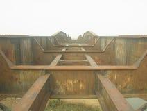 Железный мост Стоковое Фото