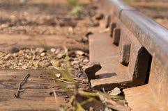 Железный рельс Стоковая Фотография
