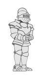 Железный рыцарь бесплатная иллюстрация