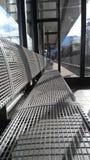 Железный стенд в зале ожидания Стоковые Изображения