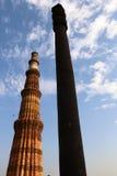 Железный столбец в Дели Стоковая Фотография RF