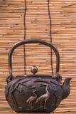 Железный чайник стоковые изображения rf