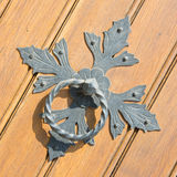 Железный knocker двери Стоковое Изображение