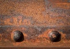 2 железных заклепки Стоковая Фотография RF