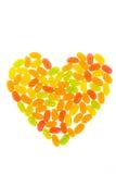 Желейные бобы аранжируют быть сердцем Стоковые Изображения