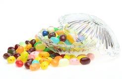 Желейные бобы в стеклянном шаре Стоковое Фото
