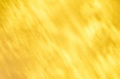 Желтая абстрактная светлая предпосылка отражения Стоковая Фотография