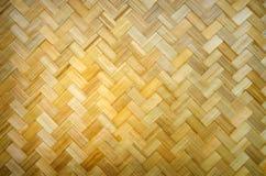 Желтая бамбуковая древесина Стоковое Фото