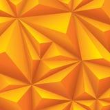 Желтая геометрическая предпосылка. полигональная предпосылка. иллюстрация вектора