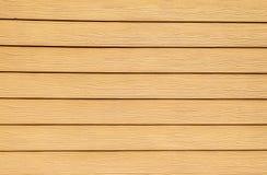 Желтая деревянная предпосылка стены Стоковое фото RF