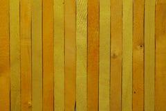 Желтая деревянная предпосылка Стоковые Фото