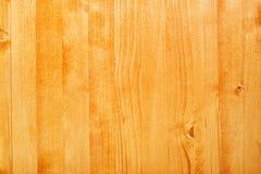 Желтая деревянная текстура доски покрашенная с акрилом Стоковые Фото