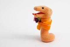 Желтая змейка Стоковые Фотографии RF