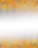 Желтая и оранжевая текстура предпосылки конспекта акварели Стоковая Фотография RF