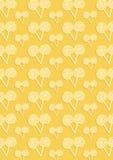 Желтая картина много candys Стоковое Изображение RF