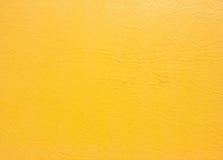 Желтая кожаная предпосылка Стоковые Фотографии RF