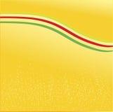Желтая красная зеленая печать пузырей флага Стоковое Изображение RF
