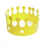 Желтая крона стоковое изображение rf