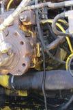 Желтая машина Стоковое фото RF