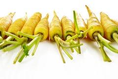 Желтая морковь Стоковые Фотографии RF