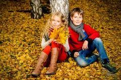 Желтая мода сезона Стоковое Изображение RF