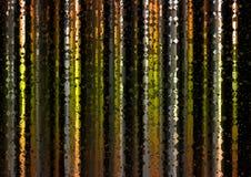 Желтая полигональная светлая предпосылка конспекта занавеса Стоковая Фотография