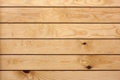 Желтая предпосылка деревянных доск Стоковая Фотография RF