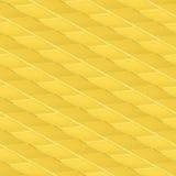Желтая предпосылка мостоваой с кирпичами Конструкция Стоковая Фотография